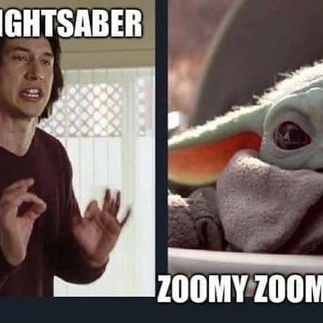 The Funniest Baby Yoda Memes Funny Memes Funny Babies Yoda Meme