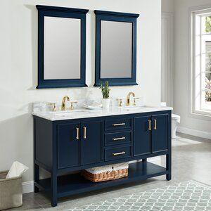 25++ Navy blue bathroom vanity 60 inch best