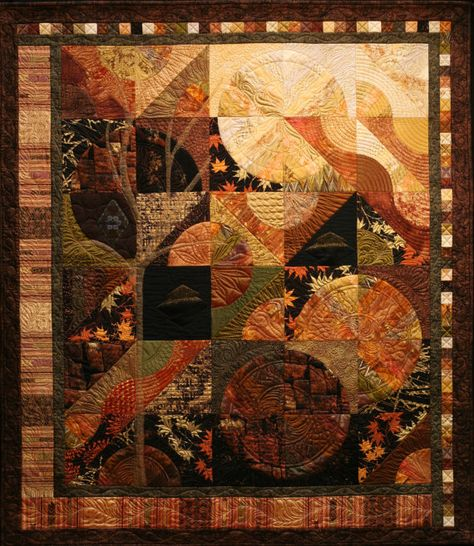 Rachel Derstine, newly juried member of the Pennsylvania Guild of Craftsmen, makes stunning art quilts to bring color and texture to your walls.