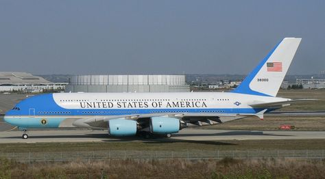 Sneak preview of Air Force One Airbus A380 style