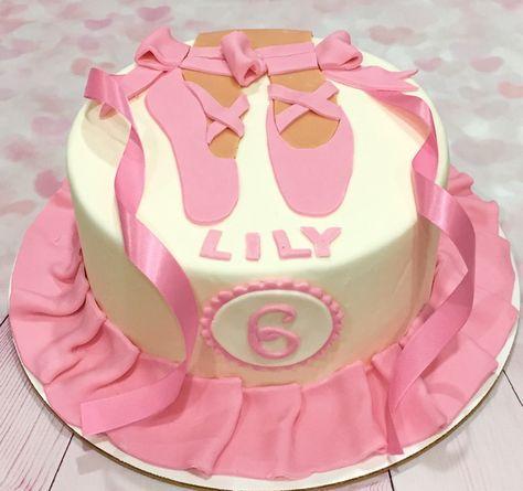 Fine Pink Ballerina Birthday Cake Cookie Bakery Cake Bakery Funny Birthday Cards Online Kookostrdamsfinfo