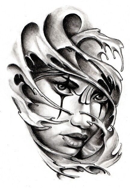 13 Ideas De Mascaras Tatuaje De Máscara Disenos De Unas Bocetos Tatuajes