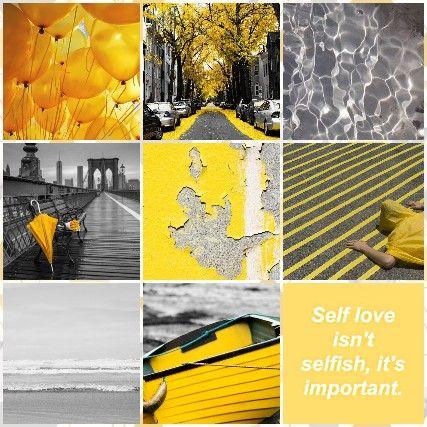 Yellow Grey Aesthetic Gray Aesthetic Aesthetic Self Love