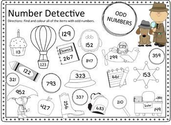 Odd And Even Number Worksheets 3 Digit Numbers With Images