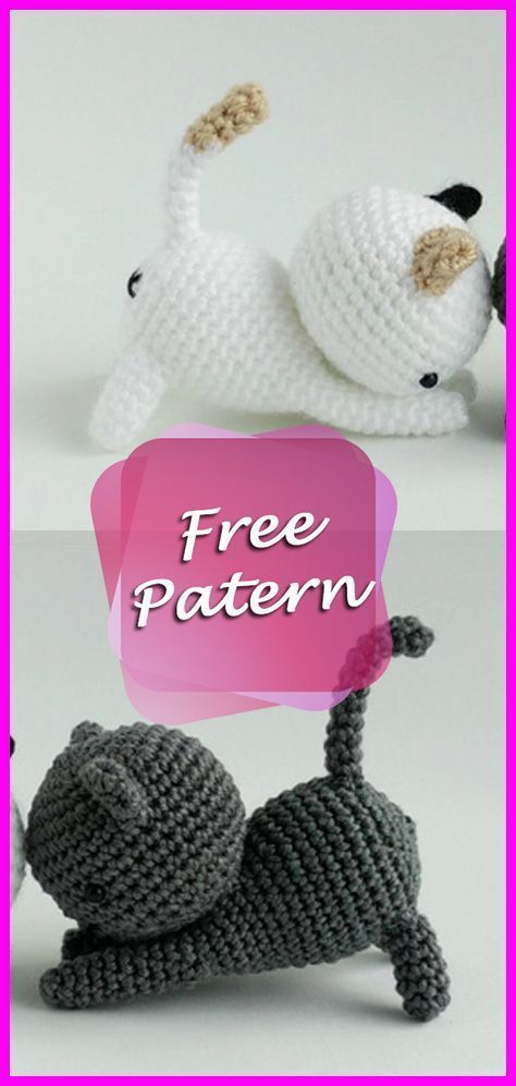 The Cutest Collection of Amigurumi Cat Patterns | 997x474