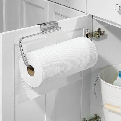 Rebrilliant Eilerman Over The Cabinet Kitchen Paper Towel Holder