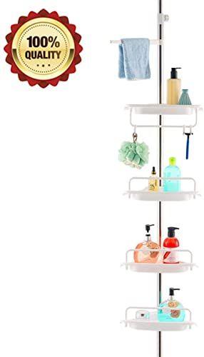 Enjoy Exclusive For Homehelper Tension Corner Shower Caddy