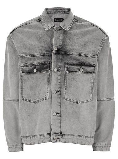 Veste camionneur en jean gris par Antioch   Shopping Mode en