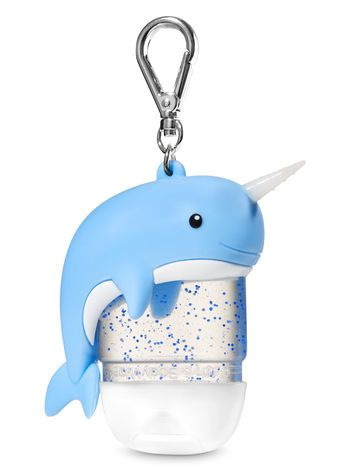 Narwhal Light Up Pocketbac Holder Bath And Body Works Bath And