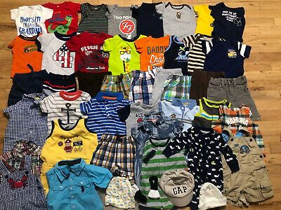 Advertisement Ebay Baby Boy Clothes Lot 0 3 3 6 6 Months Spring Summer Outfits And Sets Free Ship In 2020 Baby Boy Outfits Boy Outfits Spring Summer Outfits