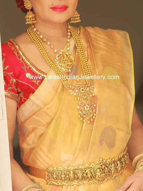 Gold Beads Jewellery by MBS - Latest Indian Jewellery Designs