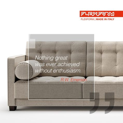 Divano Letto Moderno Flexform.Flexform Is Simply A Company From Meda That Produces Sofas And