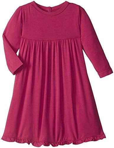 f4234db844a72 New Kickee Pants Baby Girls' Long Sleeve Swing Dress Prd-kpd121-Rdn.  [$35.99 - 36.00] from top store topbrandsclothing