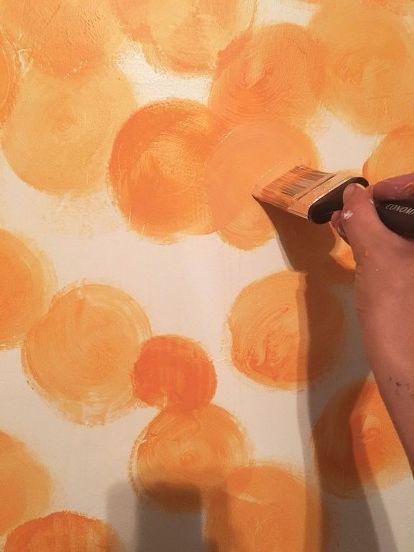 Watercolor Painted Wall Diy Watercolor Painting Wall Painting