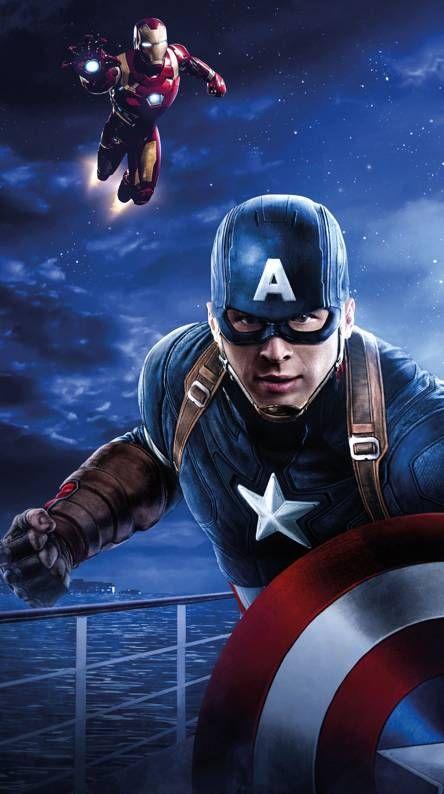 Marvel Phone Backgrounds Avengers Marvel Superheroes Captain America Wallpaper