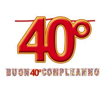 Frasi Per Auguri Di Compleanno Dei 40 Anni Auguri Di Buon