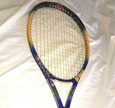 Prince Thunder Extreme Titanium Oversize Racquet 4 In 2020 Badminton Grip Racquets Tennis Racquet