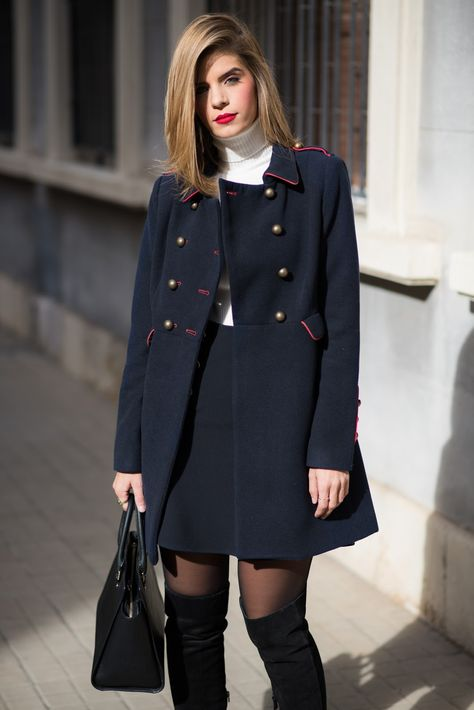 Ms Treinta - Blog de moda y tendencias by Alba. - Fashion Blogger -: Military Coat