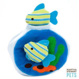 Martha Stewart Pets Fish Bowl Intelligence Dog Toy Petsmart