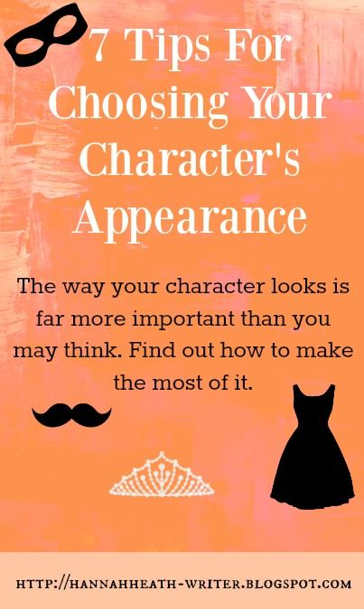 7 Tips For Choosing Your Character's Appearance