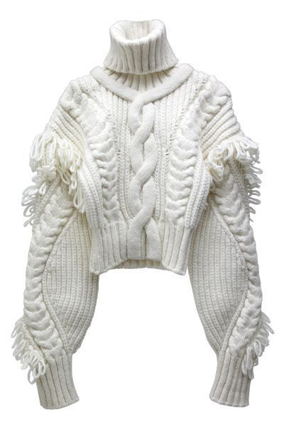 chunky cable knit - love this!