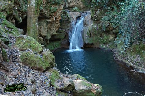 Banos De Popea Cordoba Spain Outdoor Waterfall Water