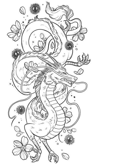 22 Badass Dragon Tattoos für Mädchen – tattoo for girls – Tattoo Ideen