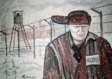 Жизнь Дональда Трампа в российской глубинке глазами художника из Ульяновска