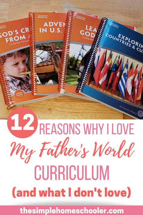 12 Reasons I Love My Father's World Curriculum (and what I don't love)