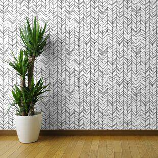 Wallpaper You Ll Love In 2019 Wayfair Ca Peel And Stick Wallpaper Chevron Wallpaper Wallpaper Panels