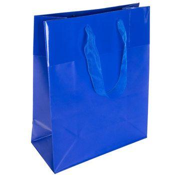 True Blue Gift Bag Jumbo Blue Gift Gift Bags Scrapbook Paper Crafts