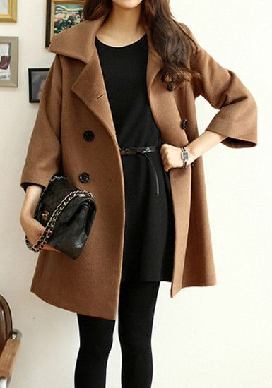 Lookbook Store http://www.lookbookstore.co/collections/outerwears/products/camel-pea-coat