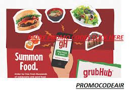 Grubhub Promo Code Reddit 20 Discount In 2020 Grubhub Best Meal Delivery Restaurant Specials