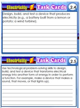 Electricity Bundle - Powerpoint, SMARTboard and PDF File Science