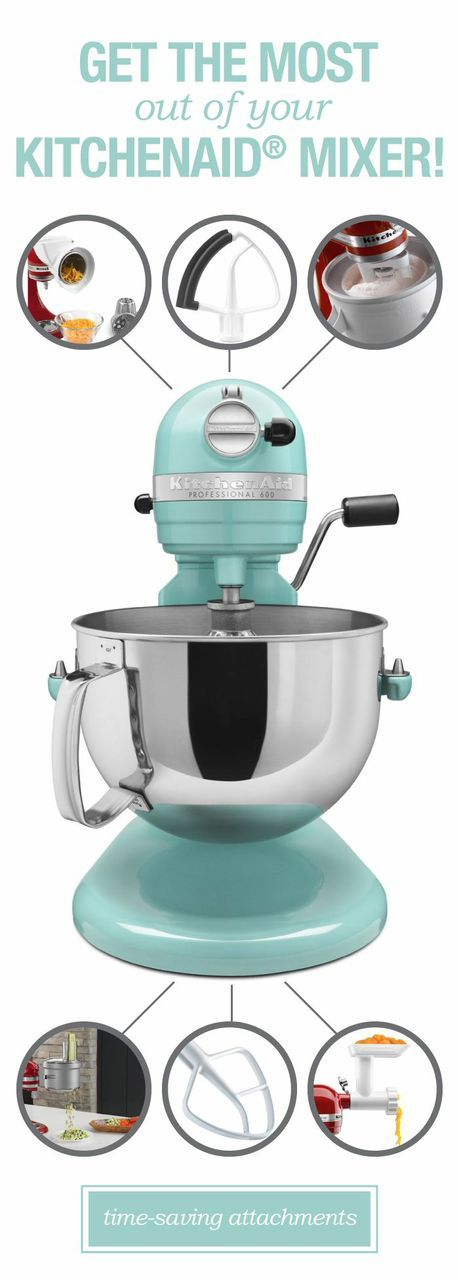 Awesome Products Every Kitchenaid Mixer Attachment And What They Do Mixers