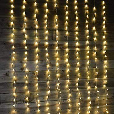 Premier 240 Warm White LED Waterfall Curtain Lights: Amazon