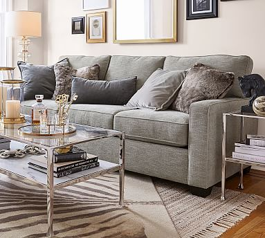 Buchanan Square Arm Upholstered Sofa Cheap Living Room Sets