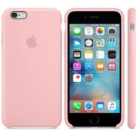 coque iphone 6 plus apple rose silicone | Coque iphone 6, Iphone 6 ...