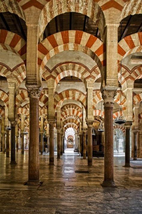 La Mezquita de Abderraman I, Córdoba                                                                                                                                                      Más