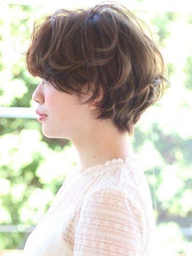 代 ショート 前髪 あり 50 髪型