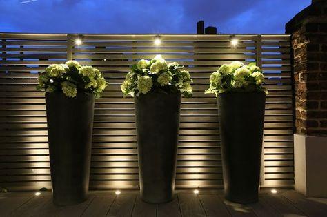 Luces Led Para Iluminar Exteriores Modernos Luces Para Jardin