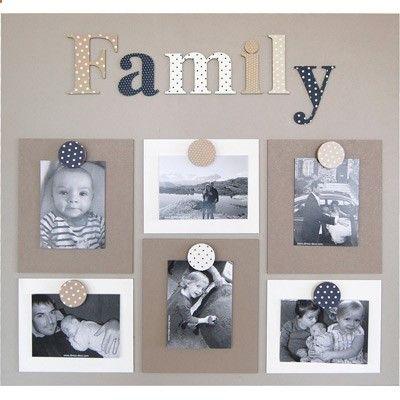 Pele Mele 6 Vues Family Bruit De Cadre Scrapbook Templates Crafts Scrapbook Albums