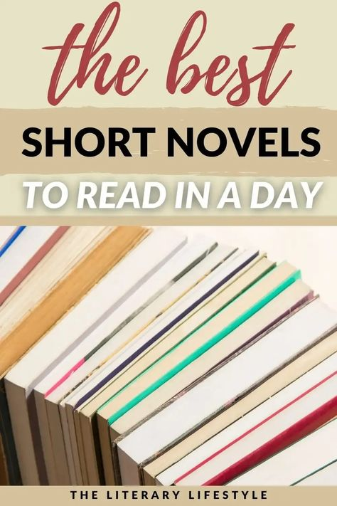 Best Short Novels Under 200 Pages to Read in a Day