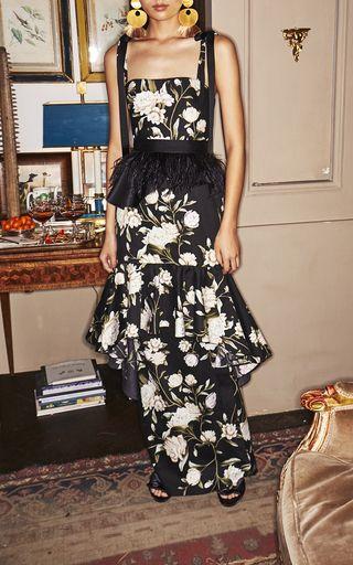 Marseille Cold-Shoulder High-Low Maxi Dress by Alexis | Moda Operandi