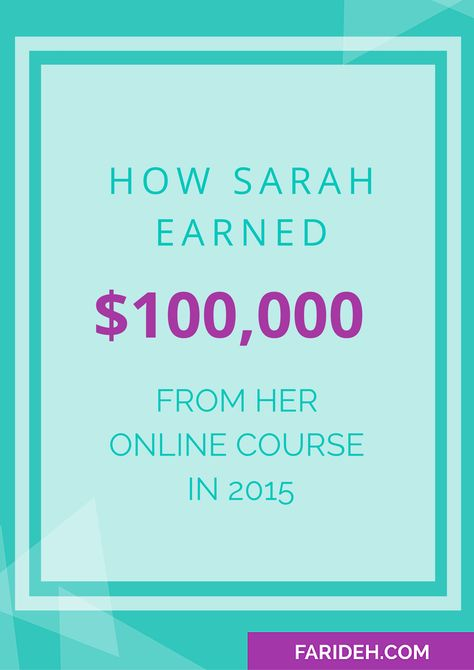 "Listen in to see how Sarah handled her launches and how she made them a success. Sarah talks about the ups and downs of a launch and dealing with the ""mental uglies"" that can pop up during it. Visit me at farideh.com to see how Sarah earned $100,000 online from her course! http://farideh.com/sarah-hart/"