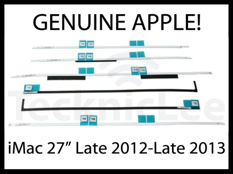 "GENUINE Apple 076-1419 Adhesive Kit for iMac 27"" Late 2012 /& Late 2013 A1419"