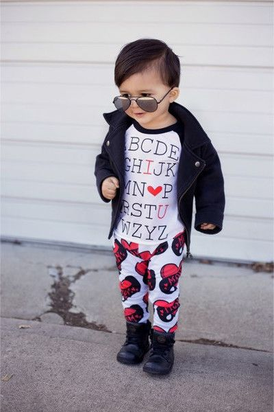 Dress him like a heartbreaker - Kids' Valentine's Day Clothes That'll Make You Swoon - Photos
