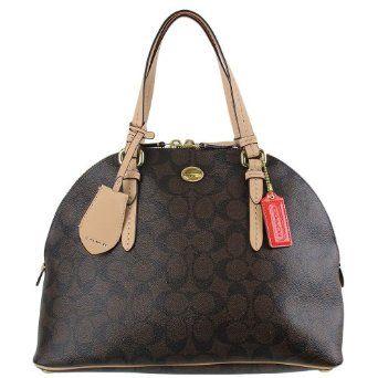 Coach Signature Stripe Backpack 21928 Khaki Mulberry   Cheap Coach Bags    Pinterest   Striped backpack c040de9a6c