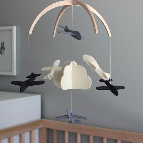 Mobile For Baby Black And White Crib Bear