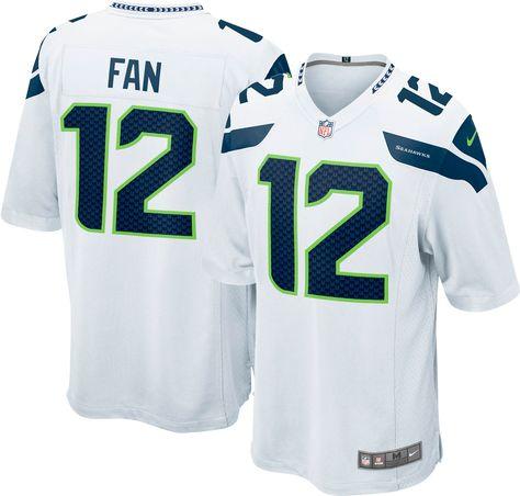 Nike Men S Seattle Fan 12 Away Game Jersey Size Medium Team Seahawks Jersey Nike Men